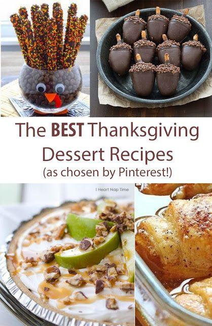 Best Thanksgiving Dessert Recipes  The Best Thanksgiving Dessert Recipes iFit