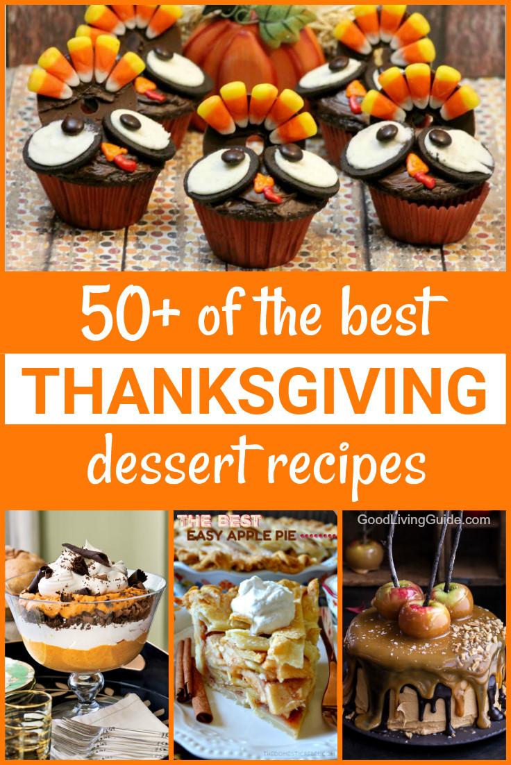 Best Thanksgiving Dessert Recipes  50 of the best Thanksgiving Dessert Recipes Good Living