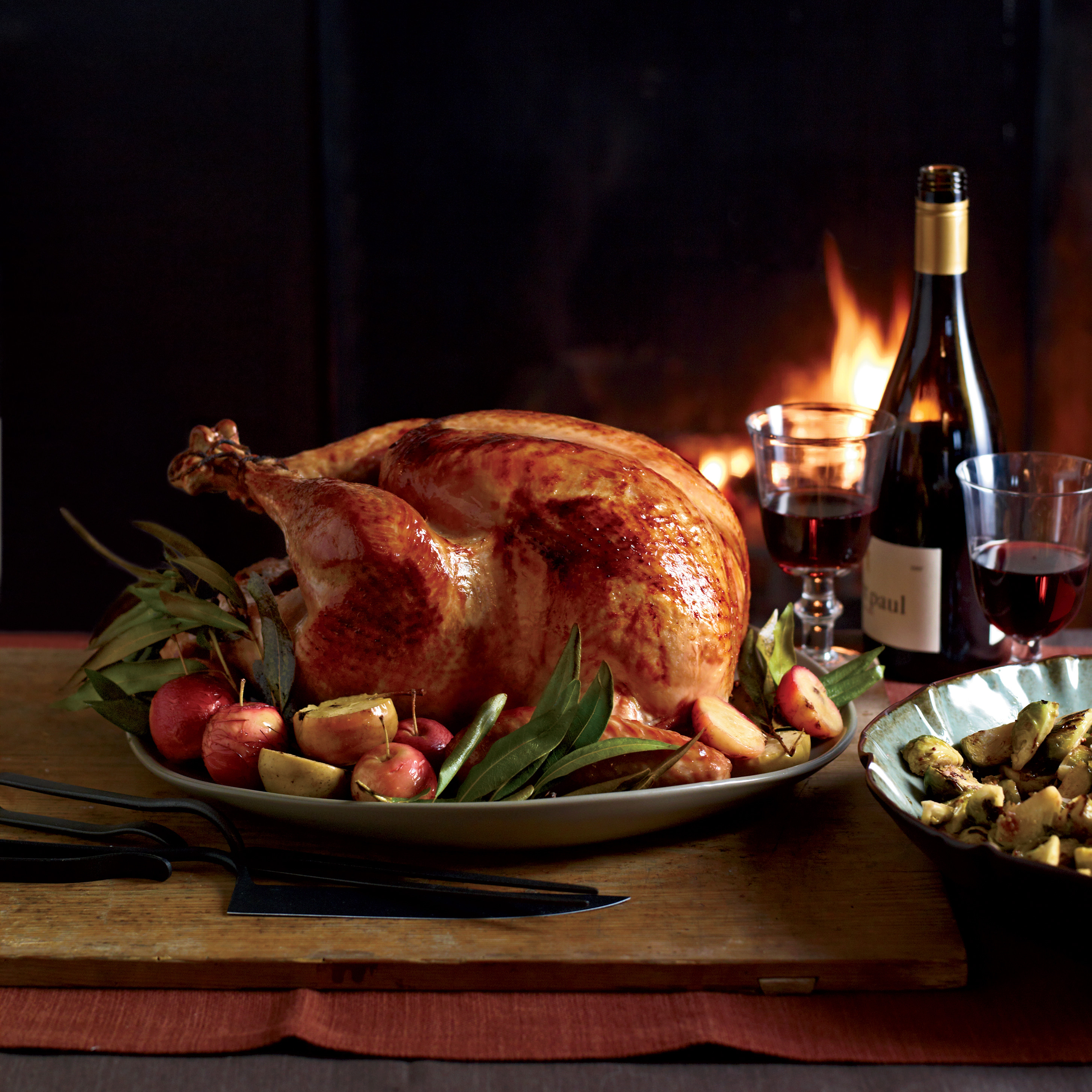 Best Thanksgiving Dinners In Dc  Cider Glazed Turkey with Lager Gravy Recipe Michael