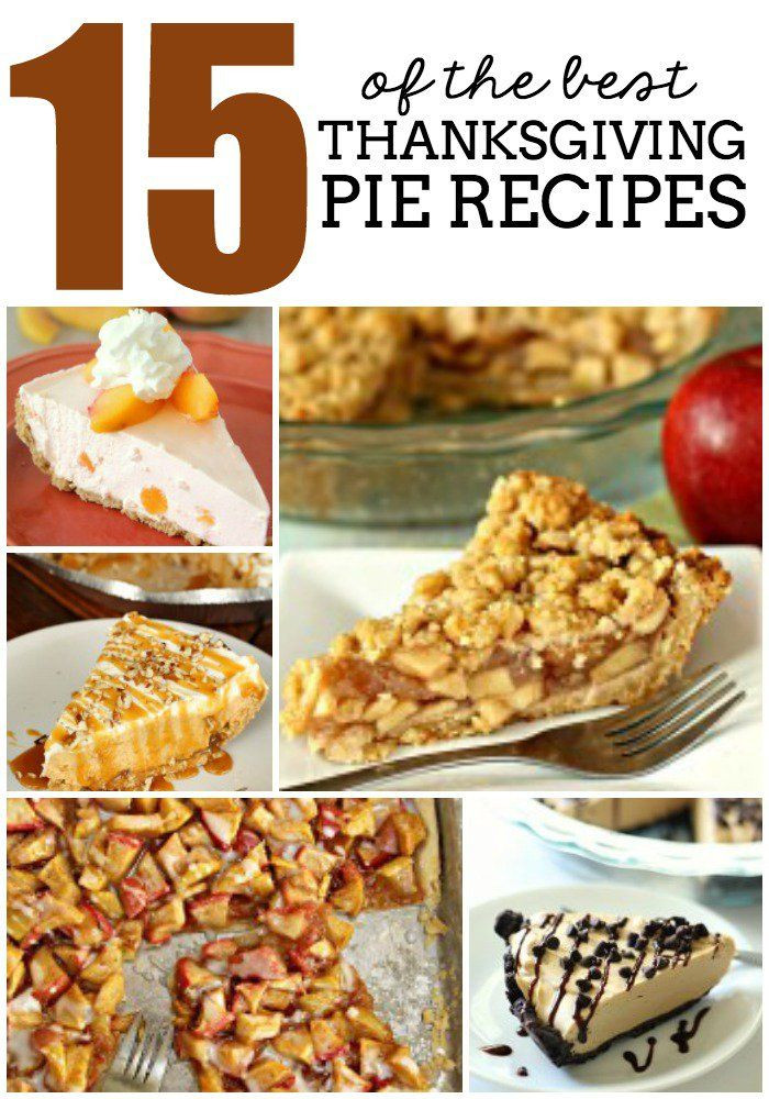 Best Thanksgiving Pie Recipes  17 Best images about Creating Thanksgiving DINNER on