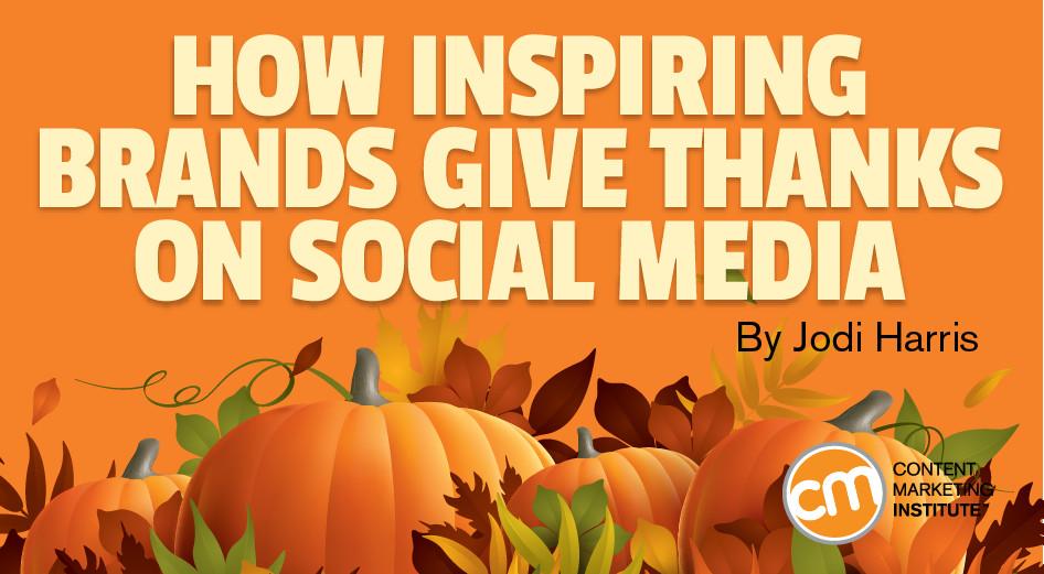 Best Turkey Brand For Thanksgiving  How Inspiring Brands Give Thanks on Social Media
