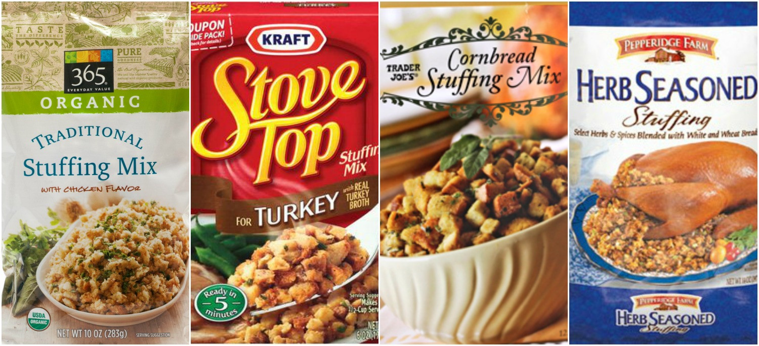 Best Turkey Brand For Thanksgiving  Best Boxed Stuffing Mix Easy Store Bought Stuffings