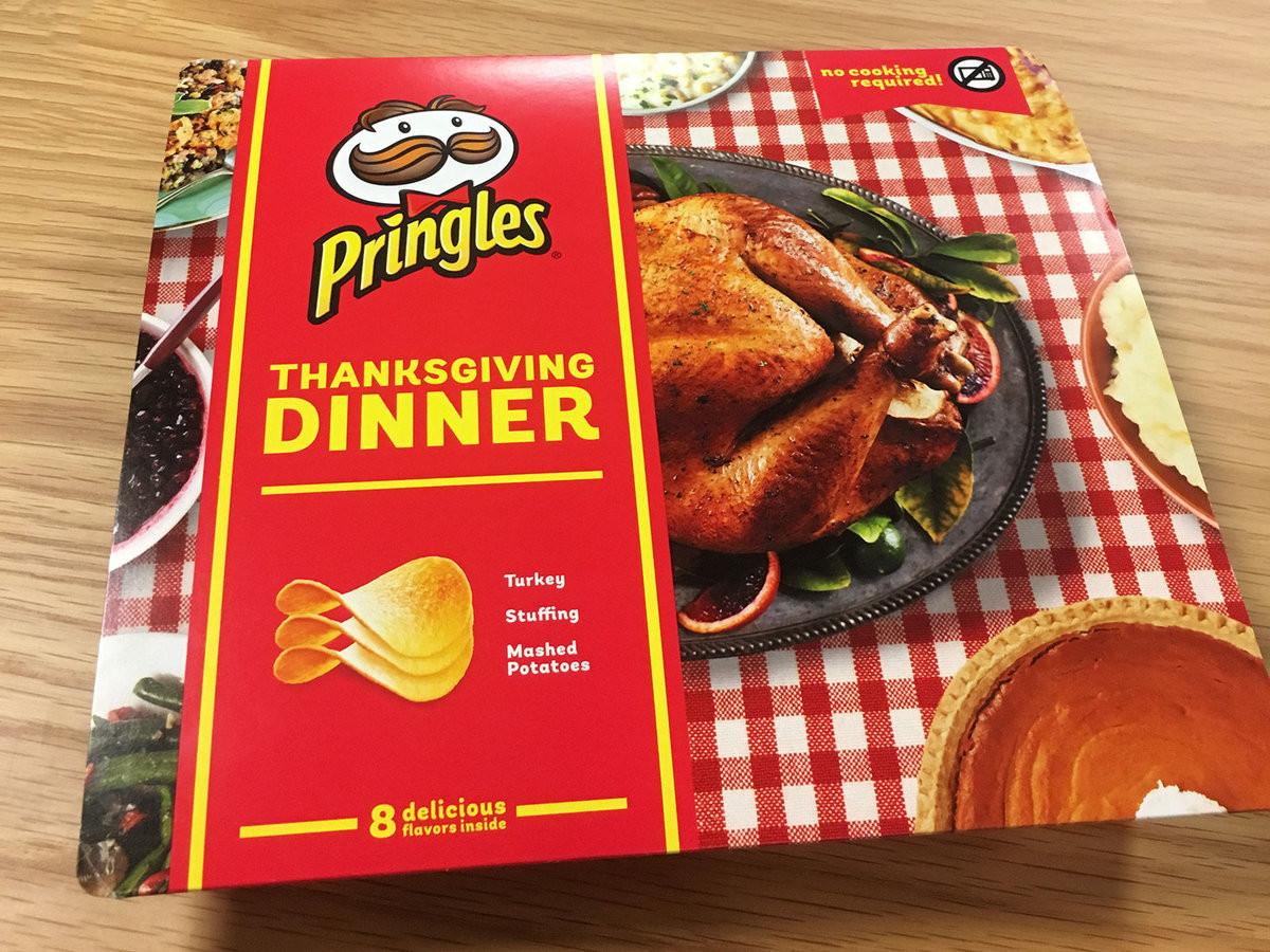 Best Turkey Brand For Thanksgiving  We Tasted Pringles' Limited Edition Thanksgiving Dinner