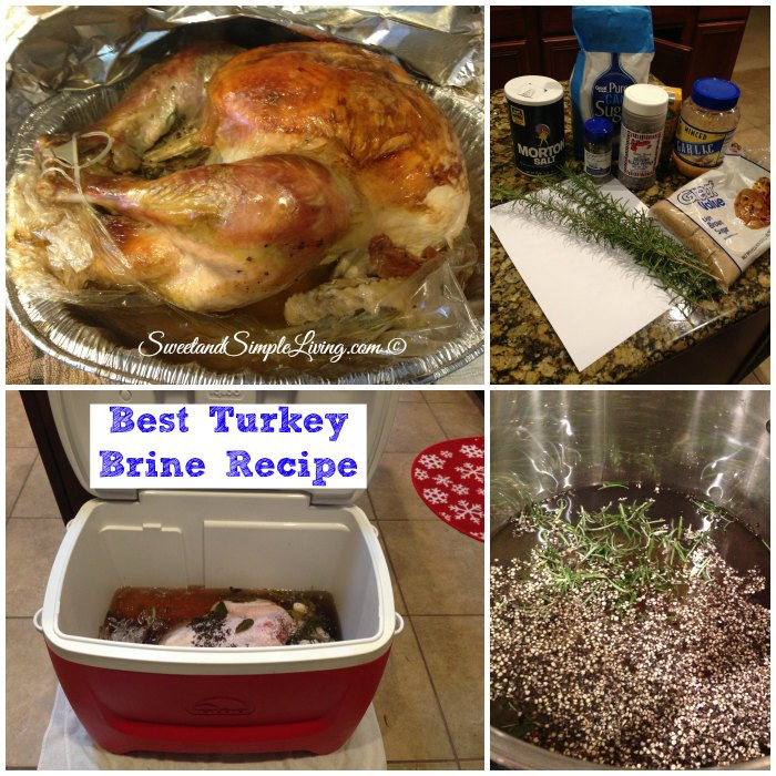 Best Turkey Brine Recipe Thanksgiving  Best Turkey Brine Recipe Sweet and Simple Living