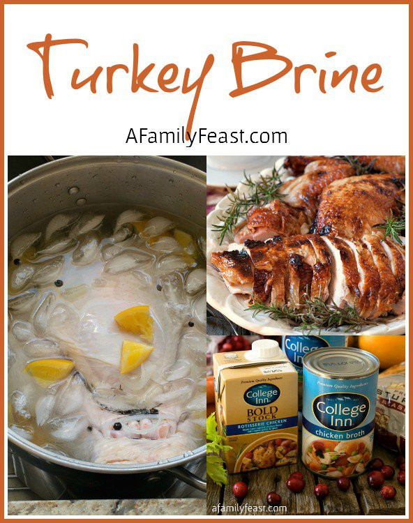 Best Turkey Brine Recipe Thanksgiving  Turkey Brine Recipe & Thanksgiving Menu Planning A