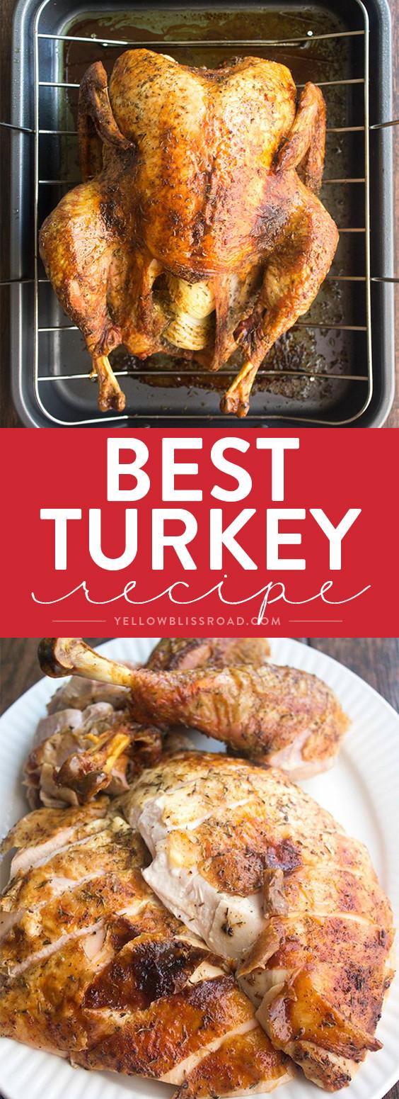 Best Turkey Recipe Thanksgiving  Best Thanksgiving Turkey Recipe How to Cook a Turkey