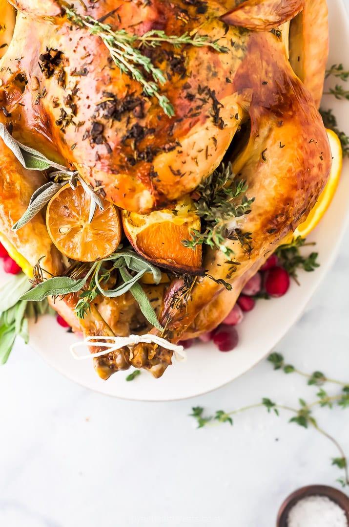 Best Turkey Recipe Thanksgiving  The Best Thanksgiving Turkey Recipe No Brine