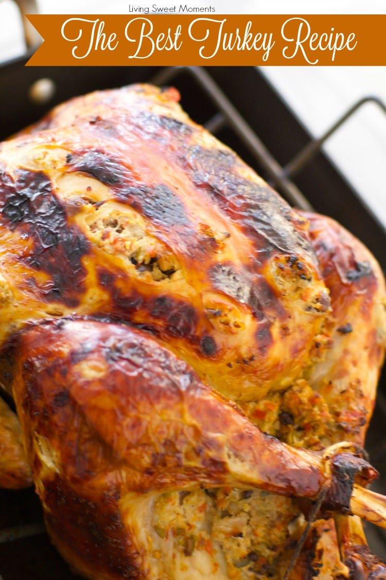 Best Turkey Recipe Thanksgiving  The World s Best Turkey Recipe A Tutorial Living Sweet