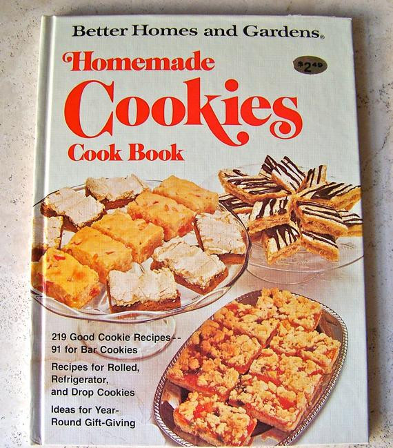 Better Homes And Gardens Christmas Cookies  Vintage Better Homes and Gardens Cookies Cookbook by