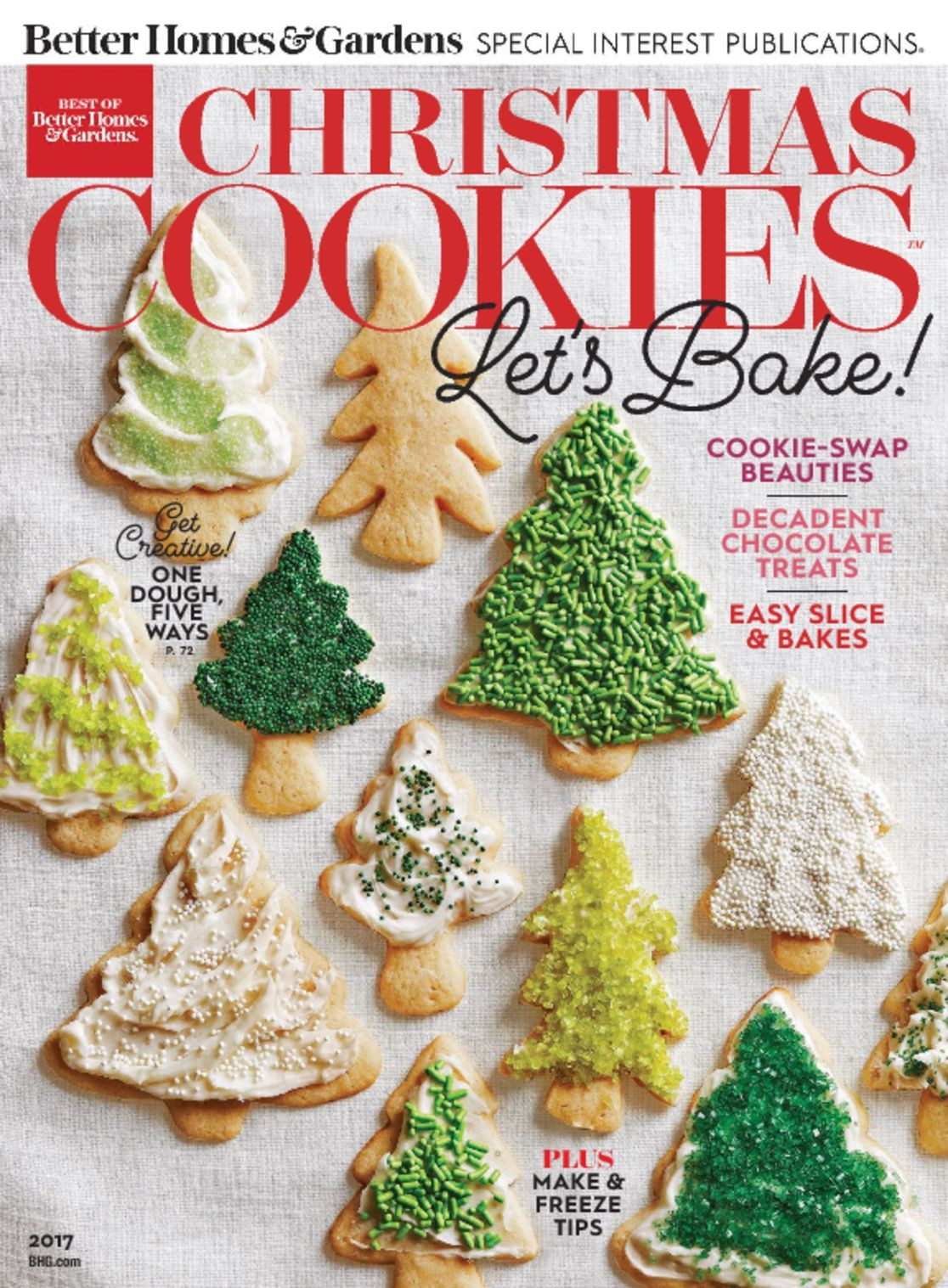 Better Homes And Gardens Christmas Cookies  Best of Better Homes & Gardens Christmas Cookies Magazine