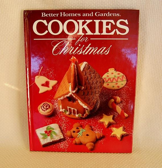 Better Homes And Gardens Christmas Cookies  Vintage Christmas Cookie Cookbook Better by FunkyJunkyVintage