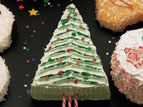 Betty Crocker Christmas Desserts  Christmas Tree Cake Betty Crocker Cake Recipes This