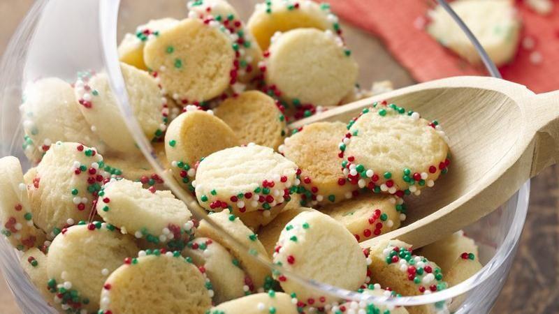 Betty Crocker Christmas Sugar Cookies  Mini Christmas Confetti Sugar Cookies recipe from Betty