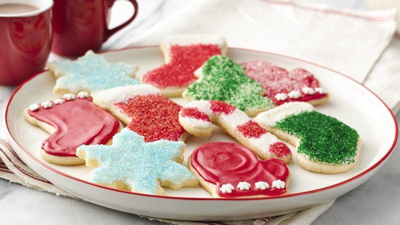 Betty Crocker Christmas Sugar Cookies  Christmas Sugar Cookie Cutouts recipe from Betty Crocker