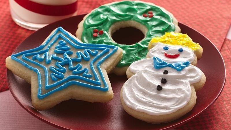 Betty Crocker Christmas Sugar Cookies  c404 Betty Crocker