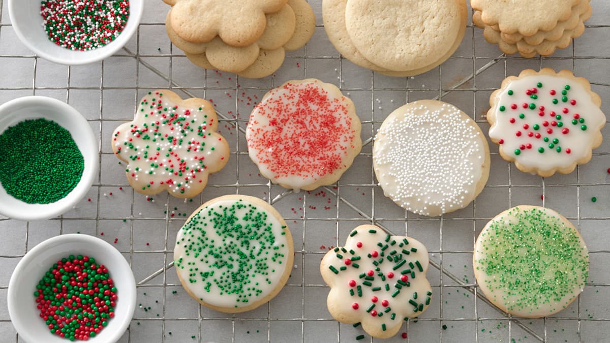Betty Crocker Christmas Sugar Cookies  How to Host a Cookie Exchange BettyCrocker