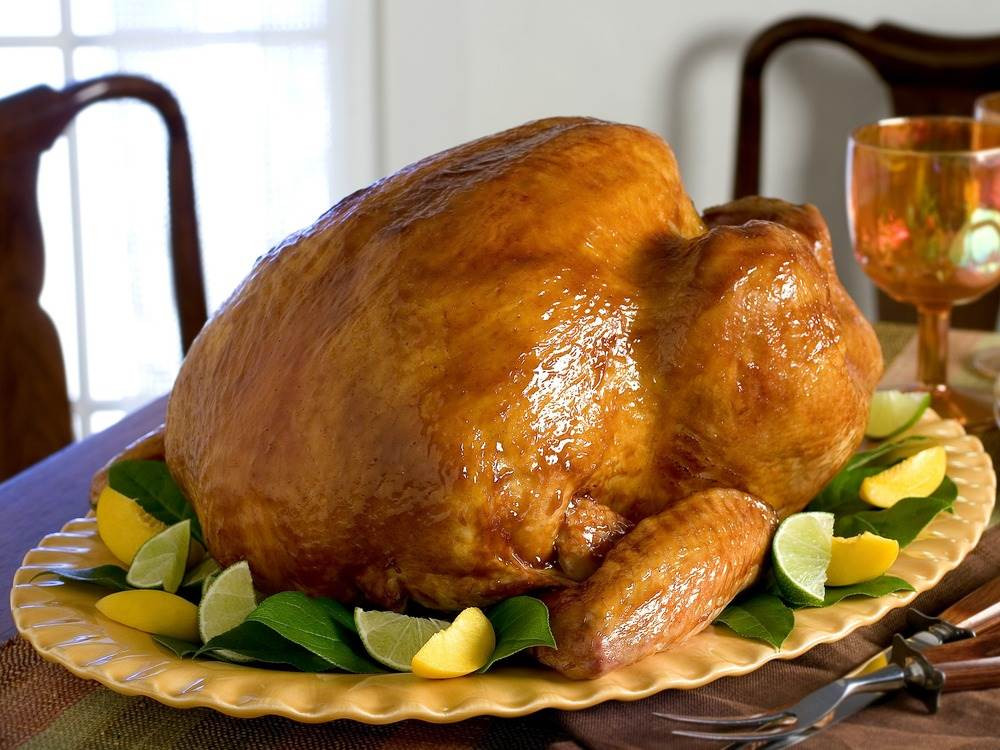 Biggest Thanksgiving Turkey  Even without big birds there's plenty of turkey for