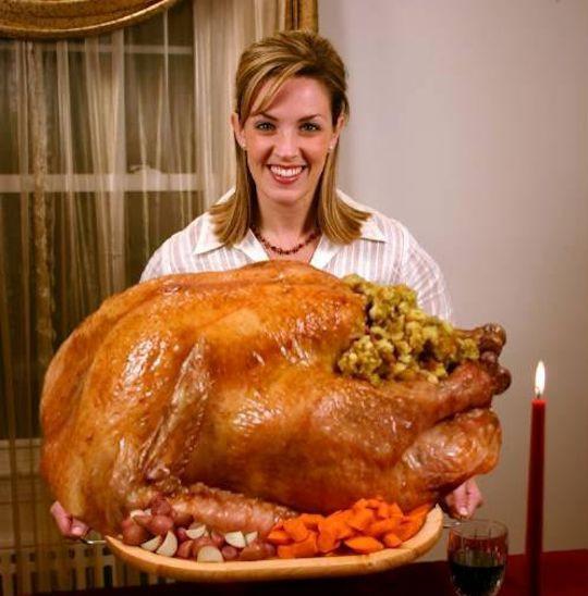 Biggest Thanksgiving Turkey  Brad's Turkey Etiquette