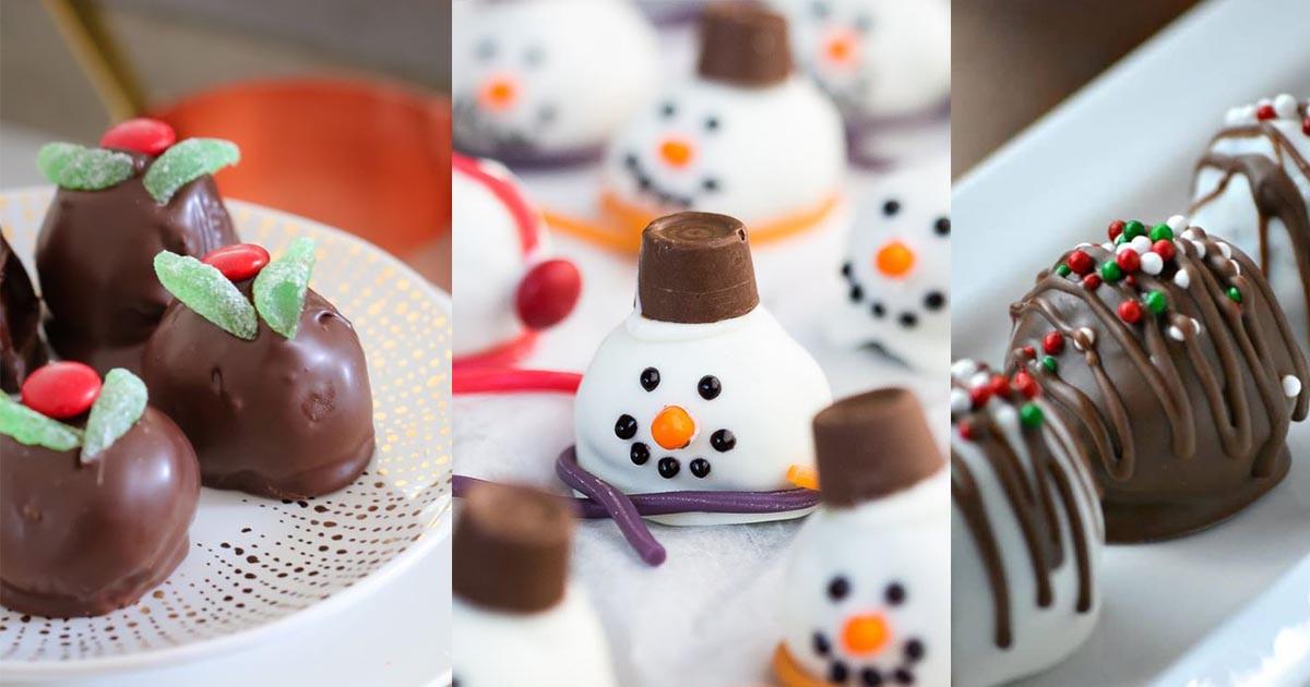Bite Size Christmas Desserts  HomelySmart