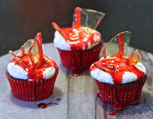 Bloody Halloween Cupcakes  Bloody Good Cupcakes America s Table