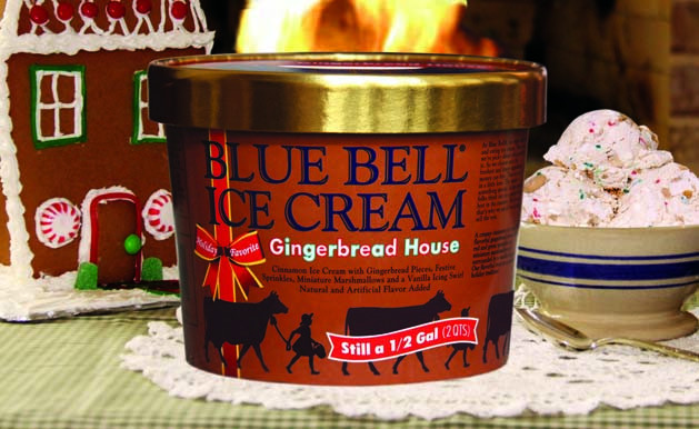 Blue Bell Christmas Cookies  Savoury Table Getting Creative with Seasonal Flavors from