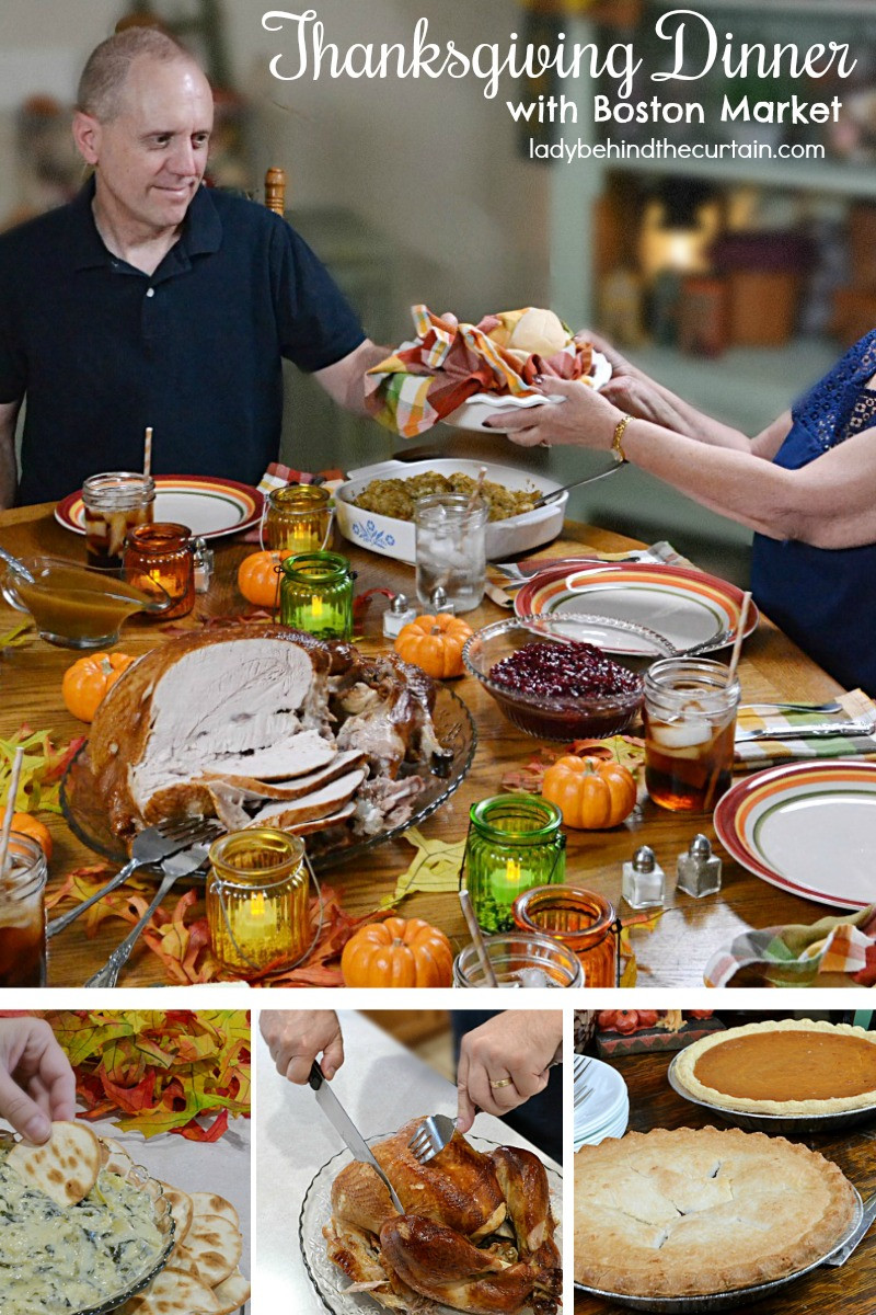 Boston Market Thanksgiving Dinners To Go  Thanksgiving Dinner with Boston Market