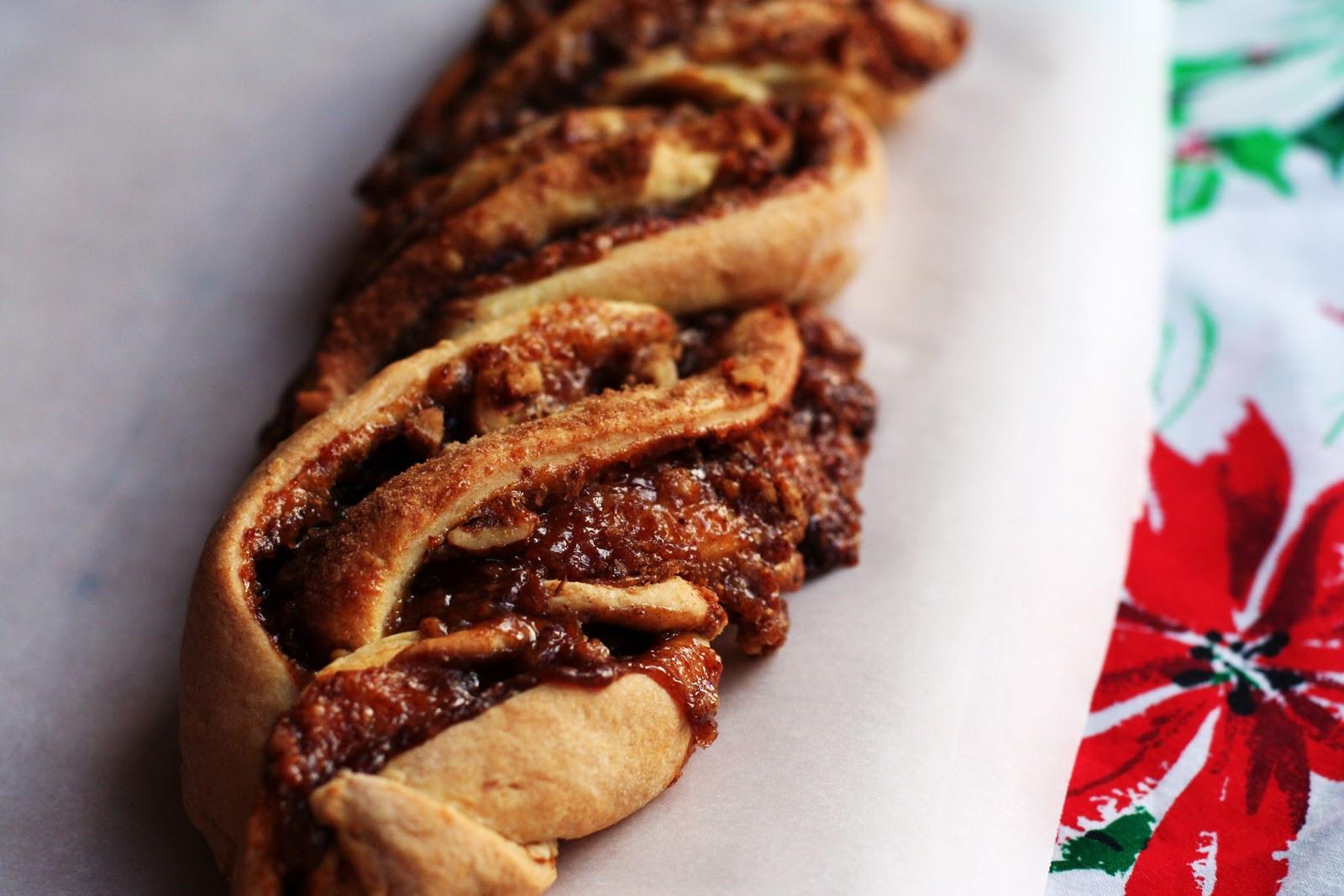 Braided Christmas Bread  a bit of sunshine Braided Almond Bread A Christmas