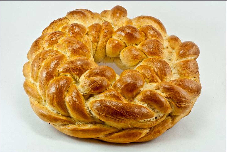 Braided Christmas Bread  Ukrainian Braided Christmas Bread Kolach Recipe