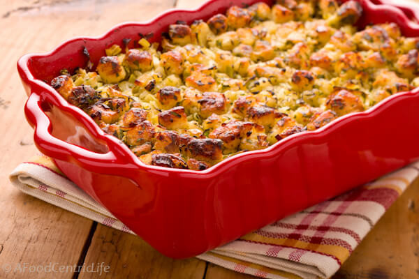 Bread Dressing For Thanksgiving  Bread Stuffing with Herbs A Food Centric Life