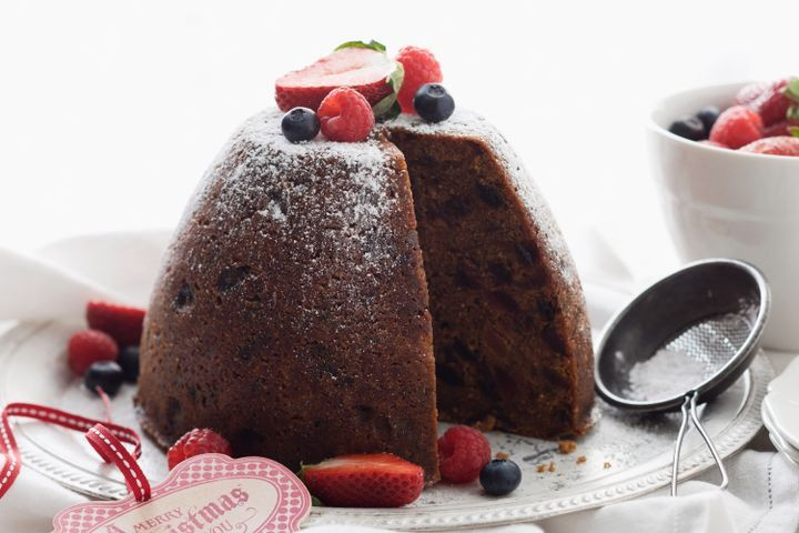 British Christmas Puddings  Traditional Christmas pudding