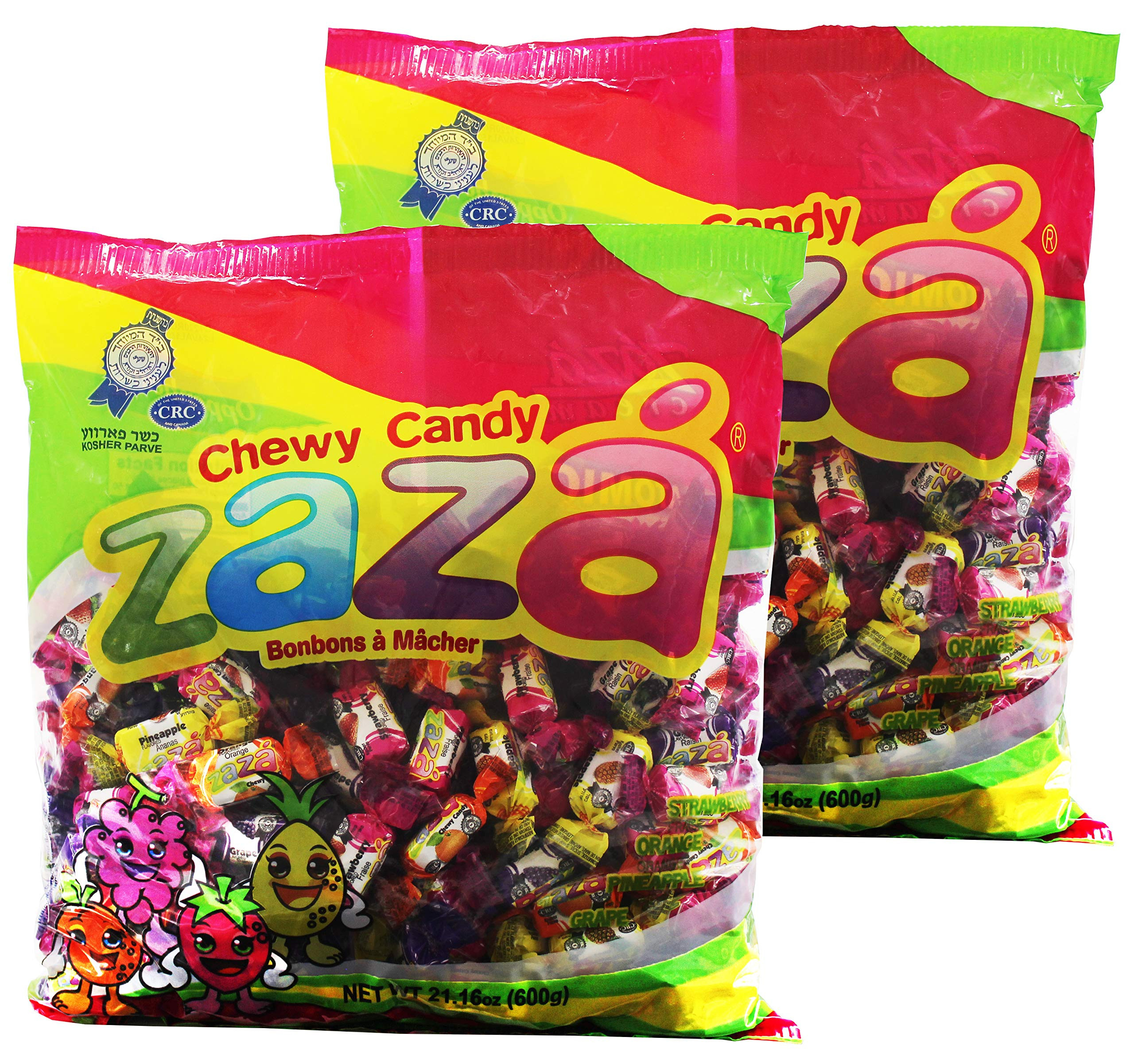 Bulk Individually Wrapped Christmas Candy  Amazon Zaza Tribala Assorted Filled Chewy Kosher