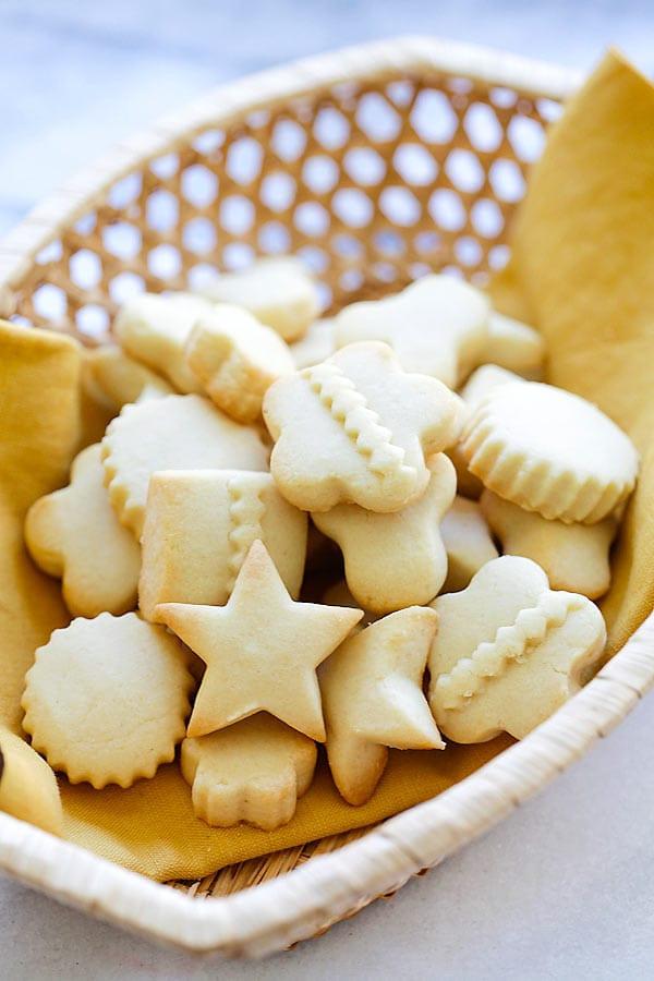 Butter Christmas Cookies  Butter Cookies