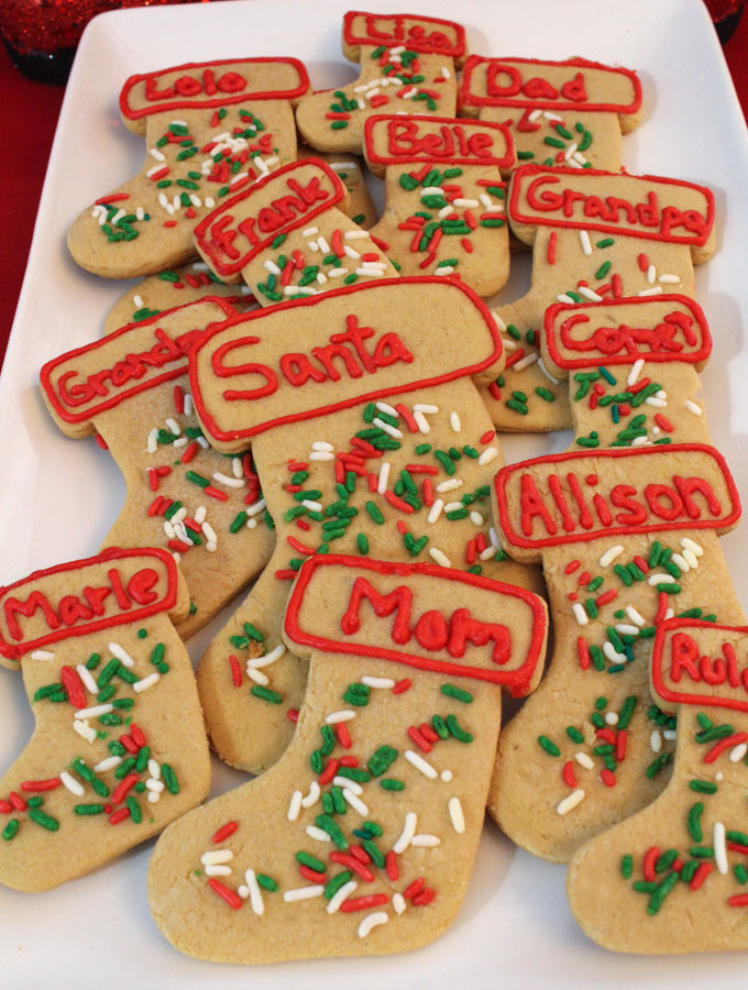 Butter Christmas Cookies  Peanut Butter Christmas Cookies Two Sisters