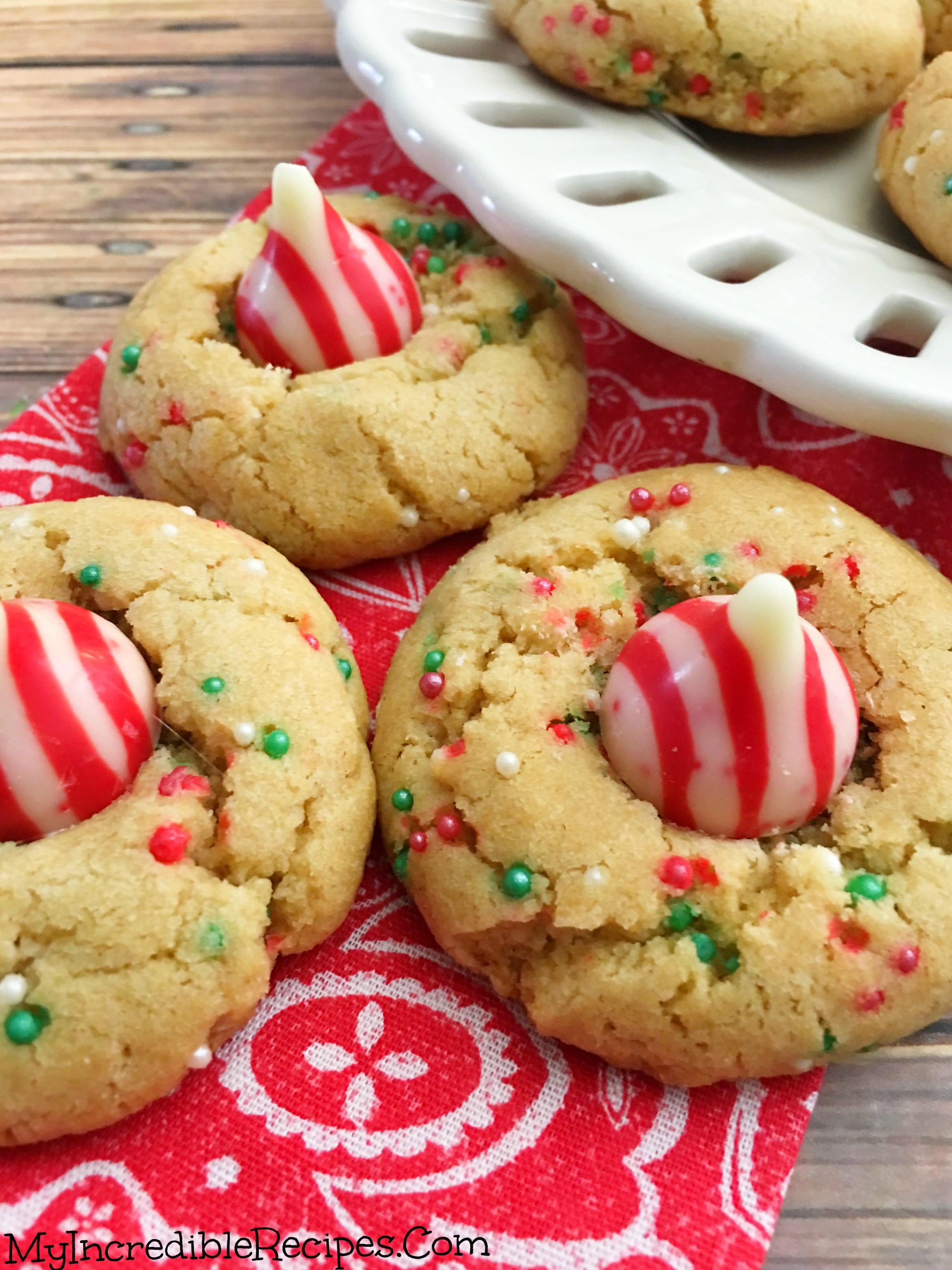 Butter Christmas Cookies  Peanut Butter Christmas Cookies