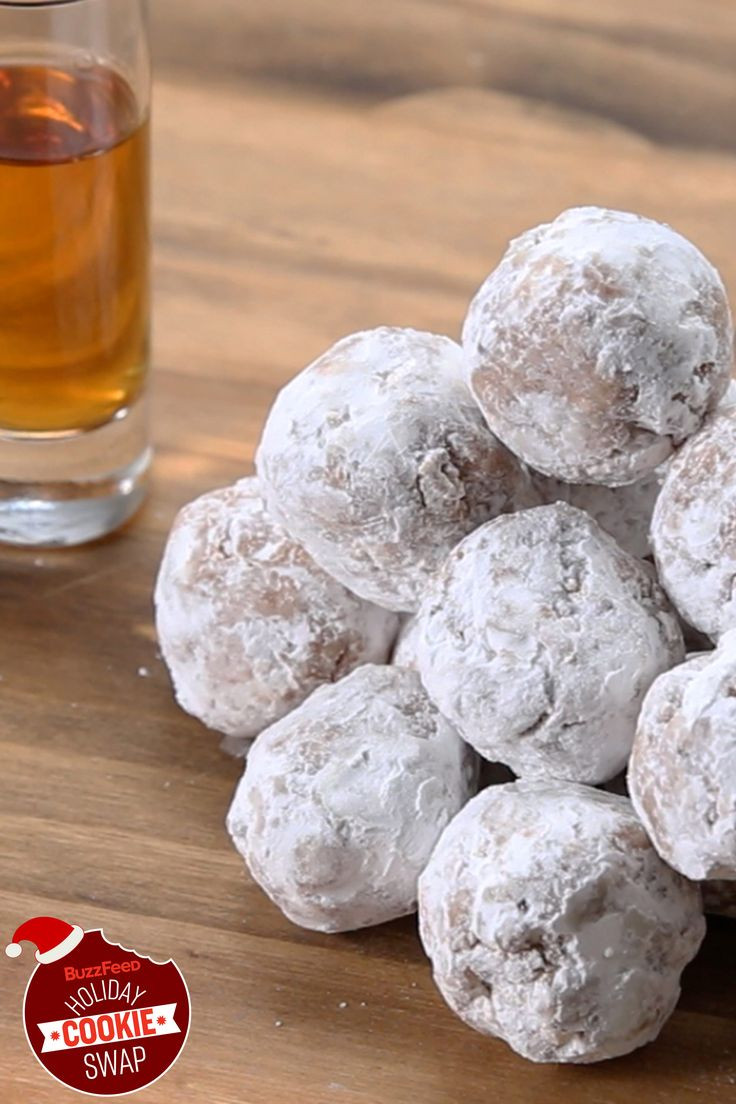 Buzzfeed Christmas Cookies  Bourbon Balls BuzzFeed Holiday Cookie Swap