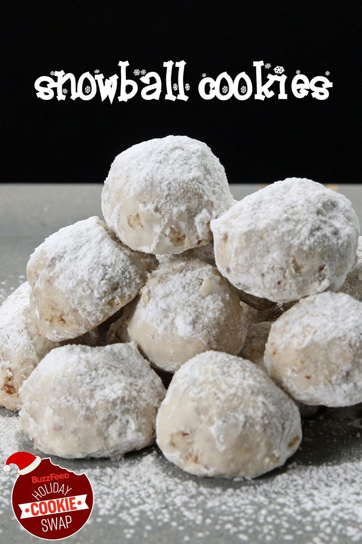 Buzzfeed Christmas Cookies  Snowball Cookies With Pecans