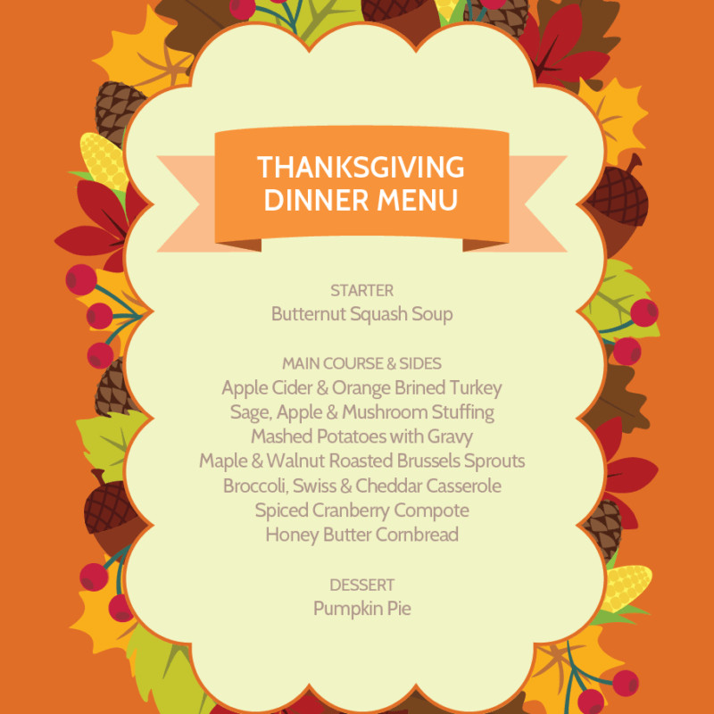 Byerlys Thanksgiving Dinners  Merriment Design – Simple and clever DIYs sewing patterns