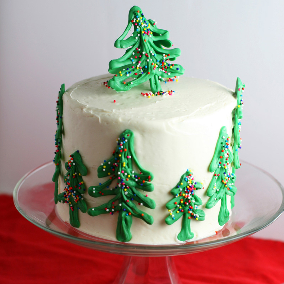 Cakes For Christmas  Chocolate Christmas Tree Cake Mom Loves Baking