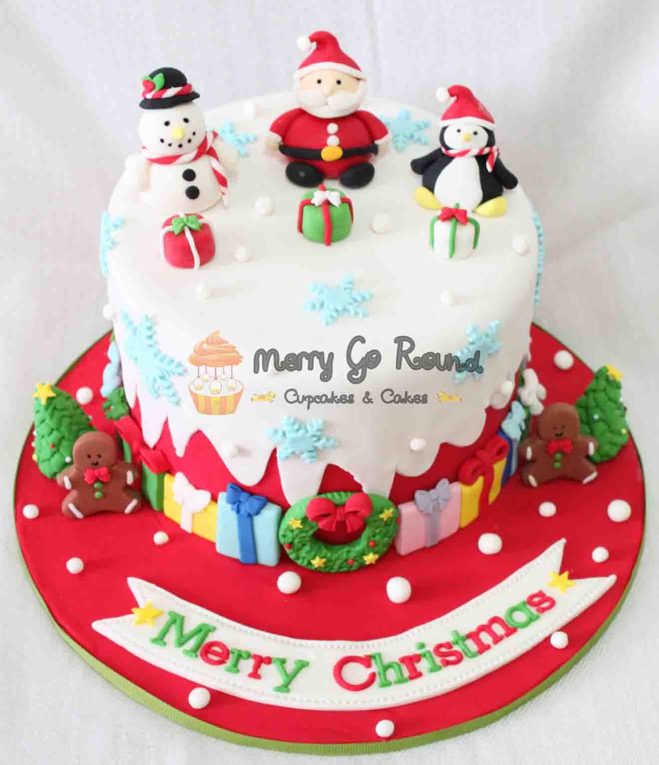 Cakes For Christmas  Pool Christmas Cakes