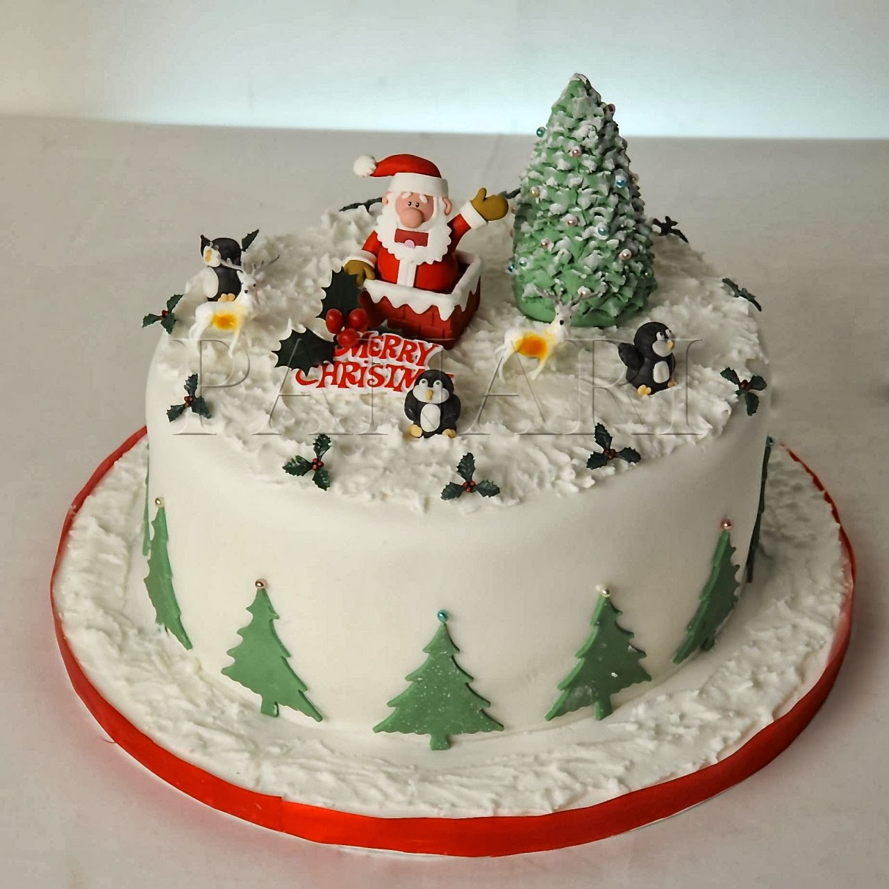 Cakes For Christmas  Merry Christmas Cake HD Wallpapers Blog