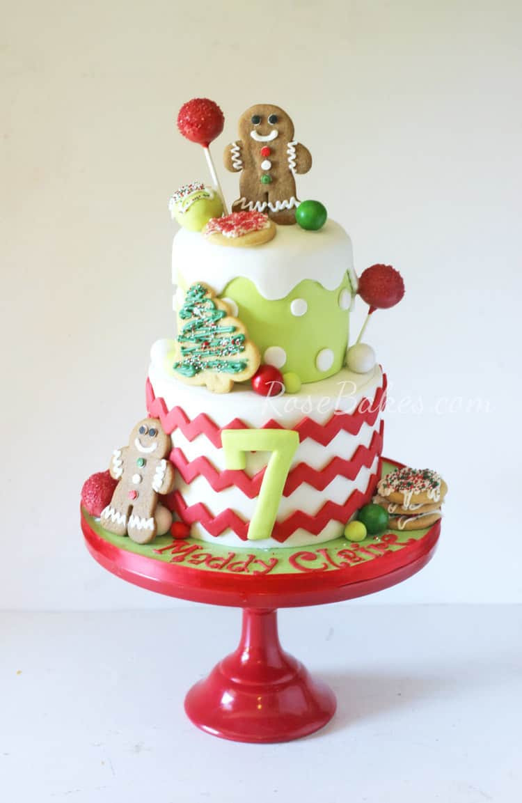 Cakes For Christmas  Who Takes the Cake December Contest Submit your Cakes