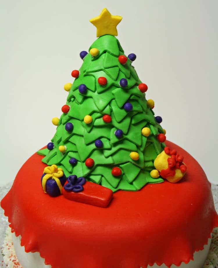 Cakes For Christmas  Christmas Tree Cake