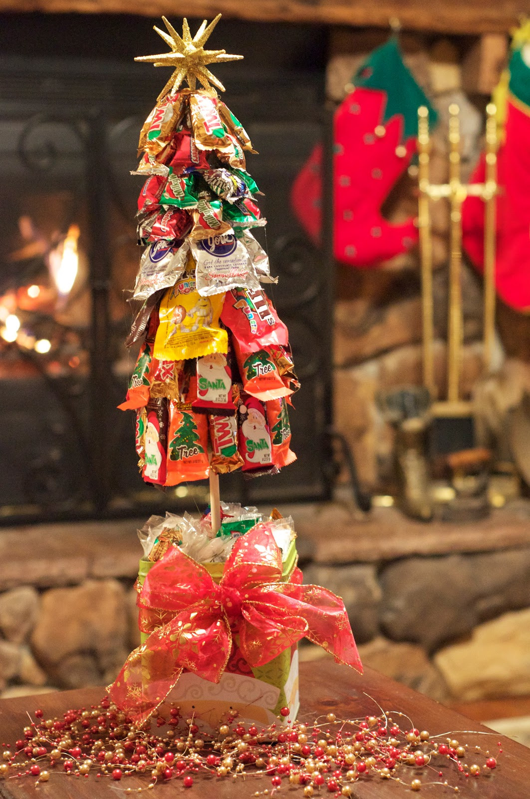 Candy Bar Christmas Tree  Lorrie s Story December 2010