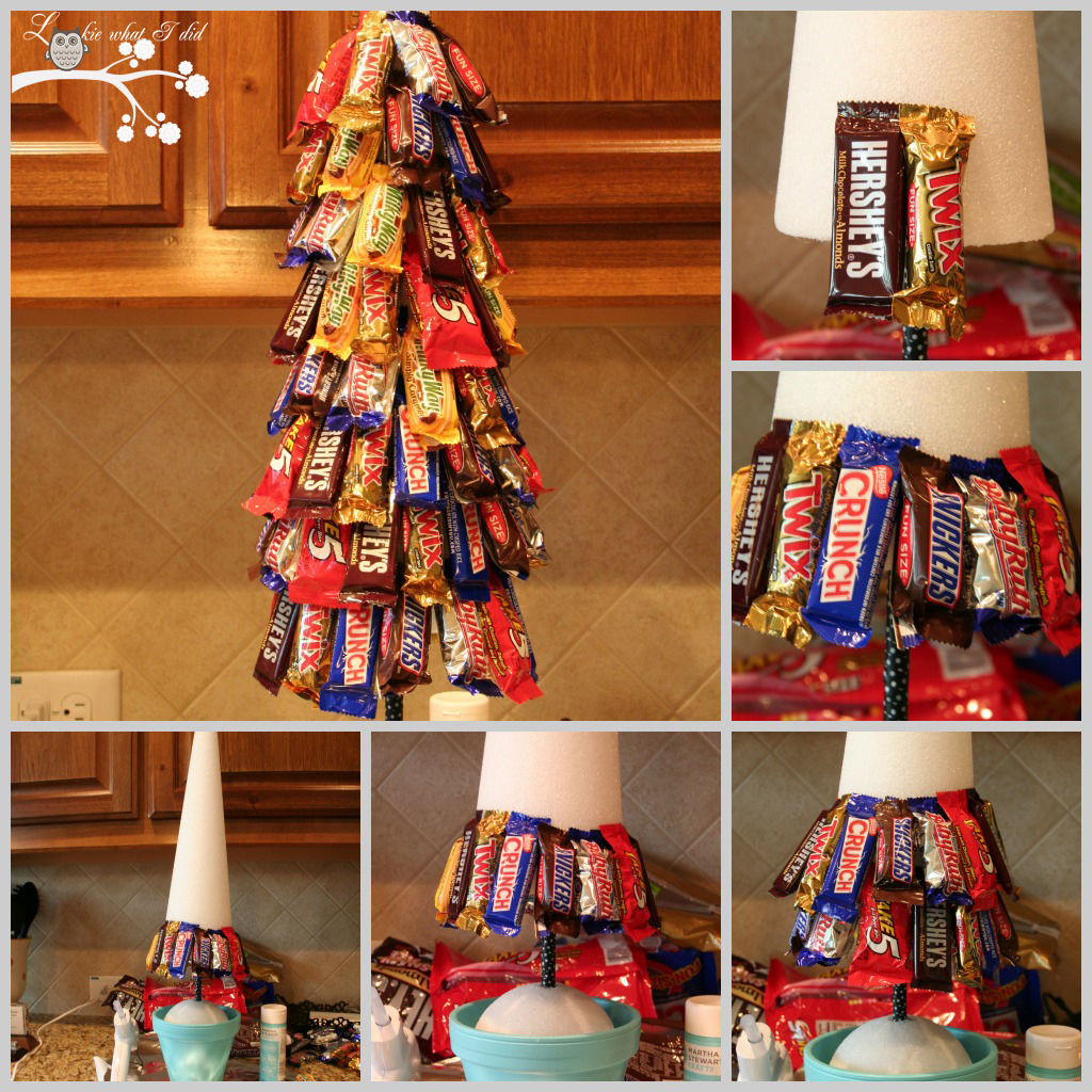 Candy Bar Christmas Tree  DIY Candy Bar Christmas Tree s and
