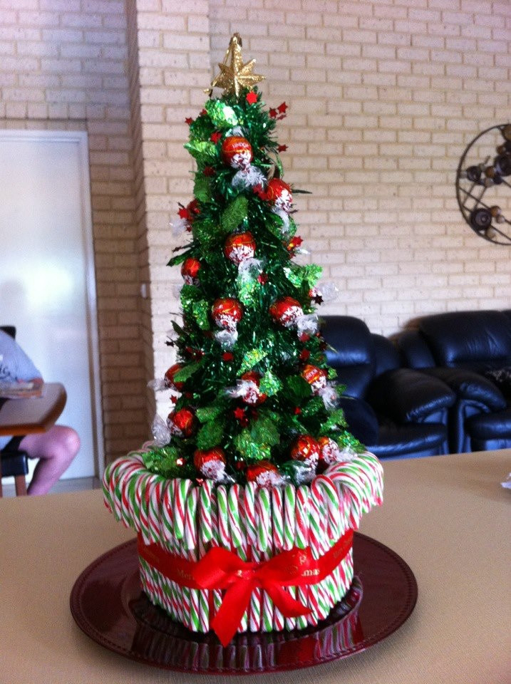 Candy Bar Christmas Tree  My Lolly Christmas Tree Candy bar pizza