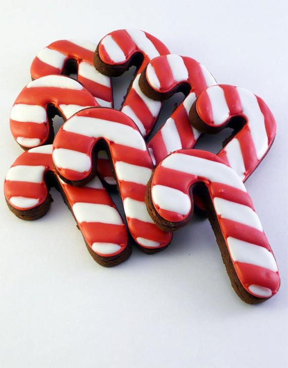 Candy Cane Christmas Cookies  Unavailable Listing on Etsy