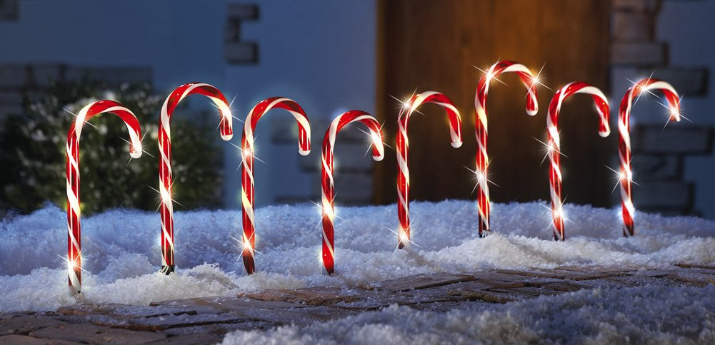 Candy Cane Christmas Lights Outdoor  Decorating Your Home for Christmas Ideas For Using