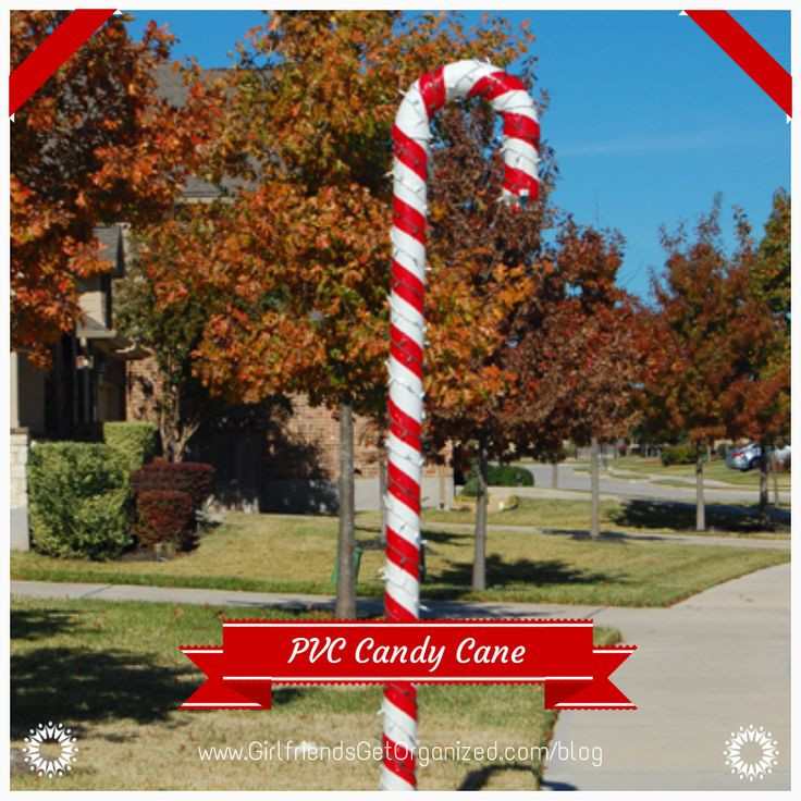 Candy Cane Christmas Lights Outdoor  25 Top outdoor Christmas decorations on Pinterest Easyday