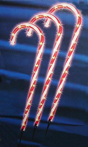 Candy Cane Christmas Lights Outdoor  Sienna Lighted Outdoor Shimmering Candy Cane Christmas