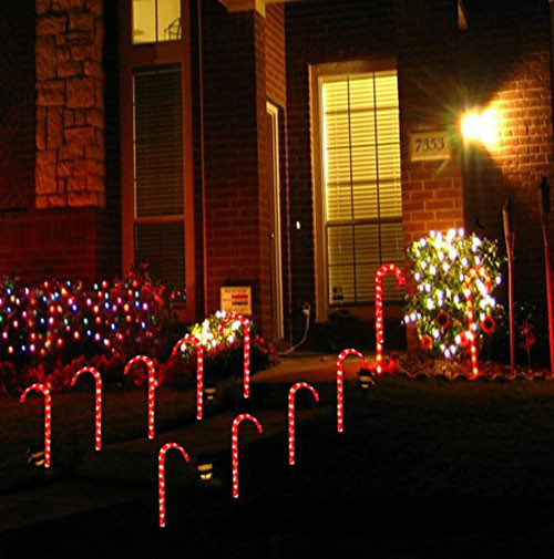 Candy Cane Christmas Lights  35 Awesome Christmas Decorations & Ornaments 2016 You